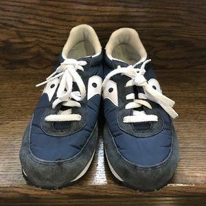 Saucony Shoes - Mens Saucony Logan MV Blue/White Running Shoes 9.5